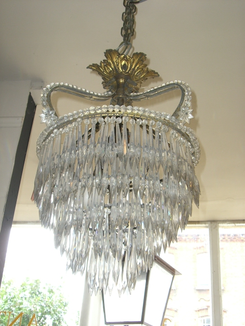 French Crown Chandelier
