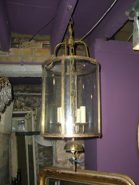 French Brass Lantern