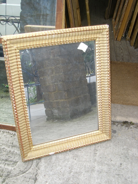 Wicker Frame Mirror