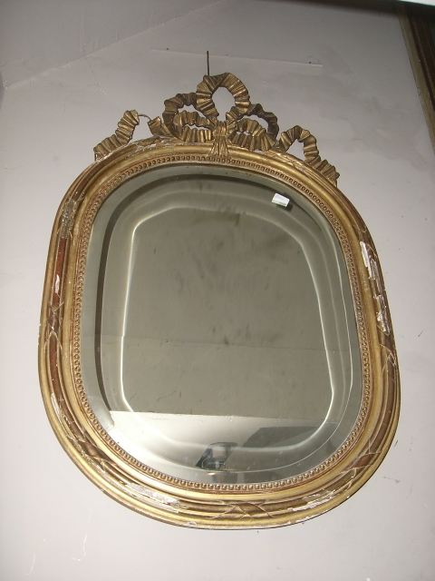 Unusual French Mirror
